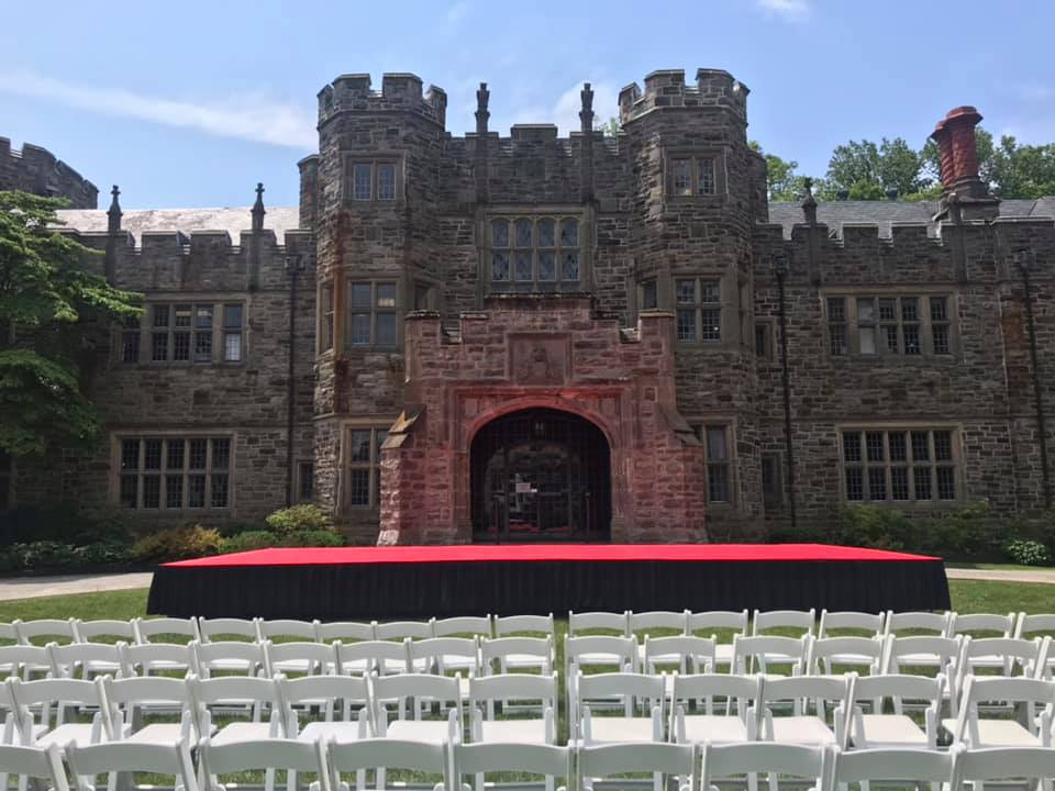 maryvale graduation outdoor stage