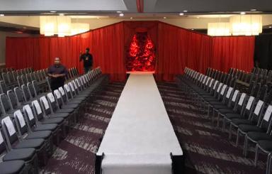 fashion show runway rental